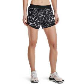 Under Armour Fly By 2.0 Printede shorts Damer, sort